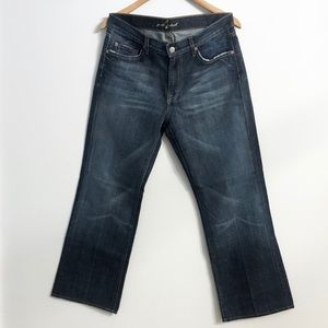 For All Mankind 7 Medium Wash Bootcut Jeans
